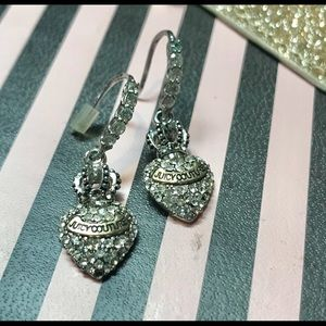 Juicy Couture vintage earrings, gorgeous drops